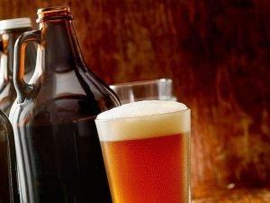 beer growler draft pour